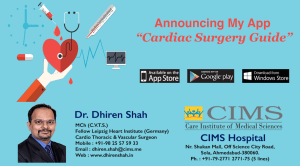 "Announcing My App ""Cardiac Surgery Guide"""