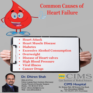 Common Causes of Heart Failure