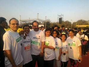 Enjoyed Safal half marathon on 3 January 2016 in Ahmedabad!