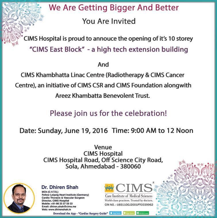 Opening of CIMS Storey