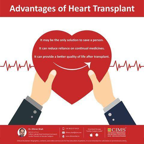 Advantages of heart transplant dr dhiren shah patient rated the post navigation ccuart Images