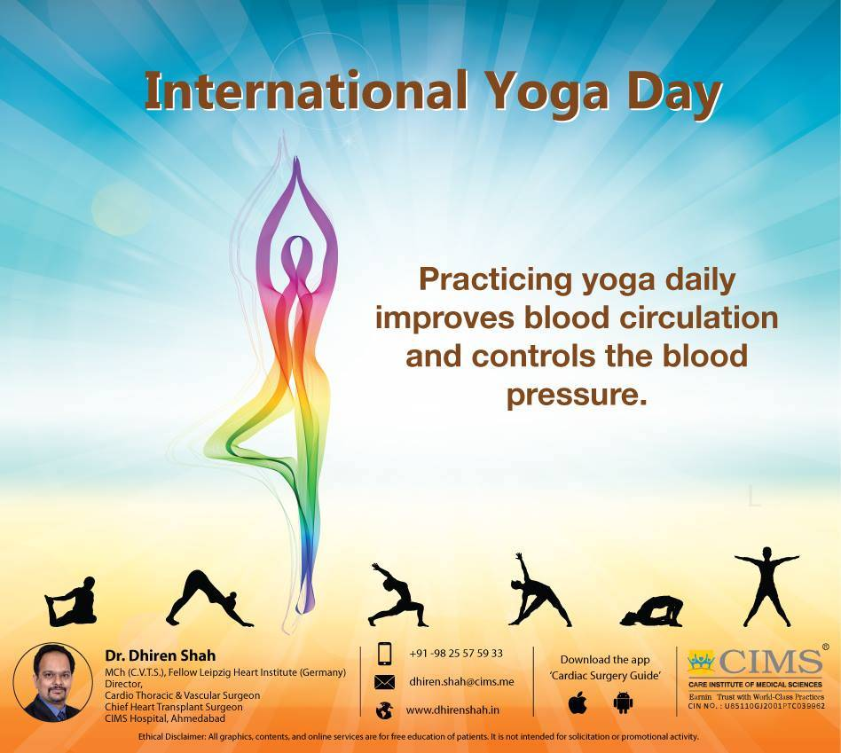 Best wishes for the International Yoga Day.