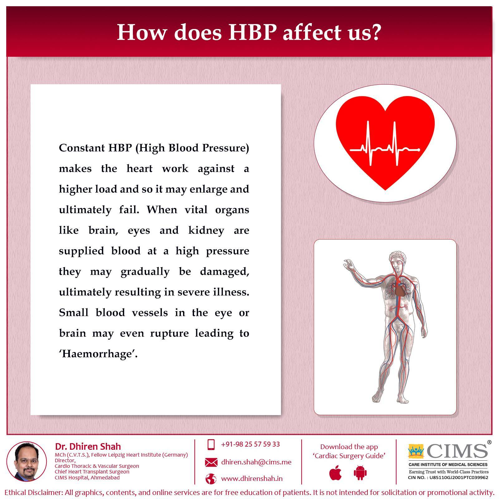 How does HBP affect us?