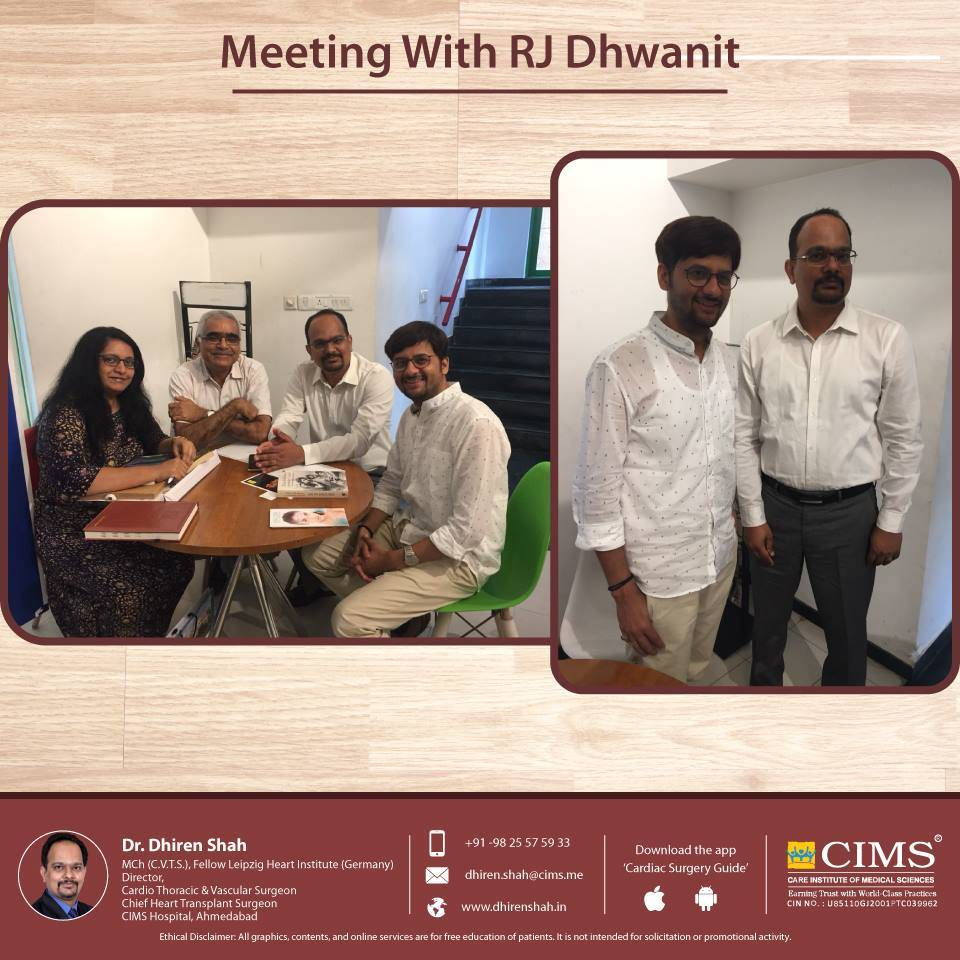meeting with RJ Dhwanit