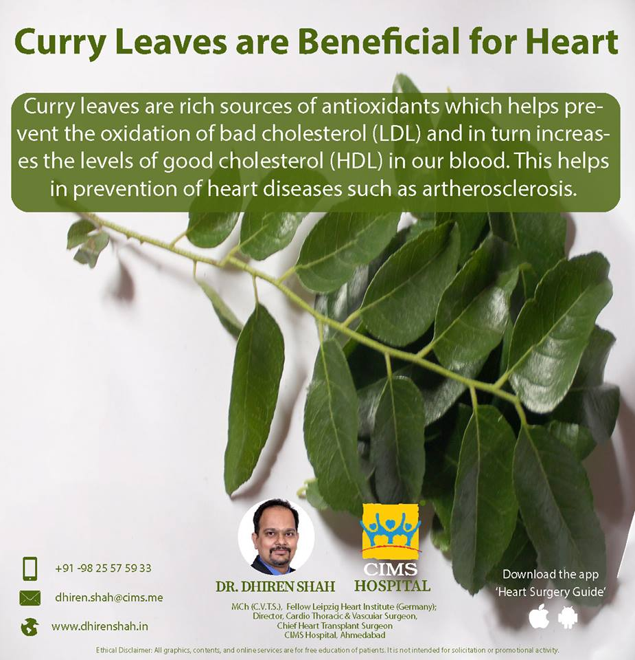 Curry leaves are beneficial for your heart, here's how!