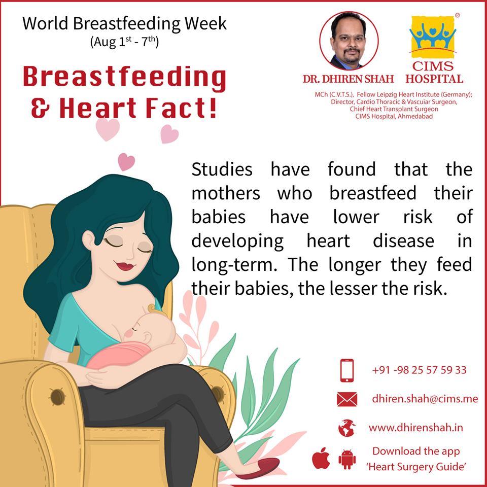 Breastfeeding & Heart Fact !